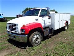 2000 GMC C6500 S/A Diesel Service Truck
