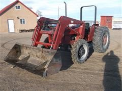 1989 Case International 585 MFWD Tractor