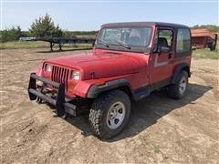 1992 Jeep Wrangler 4x4 SUV