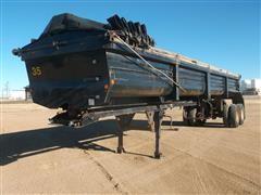 2000 Lufkin T/A Hydraulic Dump Trailer
