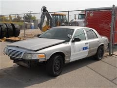 2005 Ford Crown Victoria Police Car For Parts