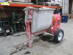 2013 MQ-Whiteman WM-90P 9 Cu Ft Tow Behind Mortar Mixer