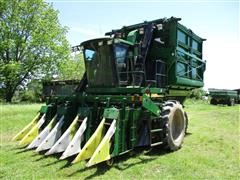 1995 John Deere 9965 4 Row Inline Cotton Picker