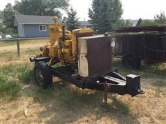 "Berkeley 8"" Portable Water Pump w/ CAT Power Unit"