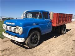 1959 Ford F600 S/A Grain Truck