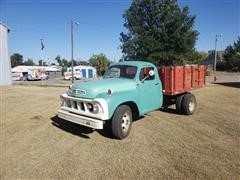 1961 Studebaker Transtar S/A Grain Truck W/Bed & Hoist