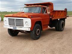 1967 Ford 750 Dump Truck