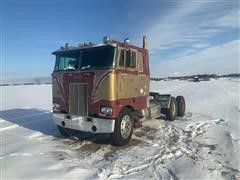 1977 Peterbilt 352-M86 T/A Cabover Truck Tractor (INOPERABLE)