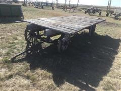 Shop Built Hay Rack & IHC Rod Weeder
