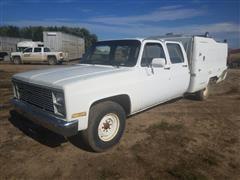 1986 Chevrolet C20 4 Door Service Truck