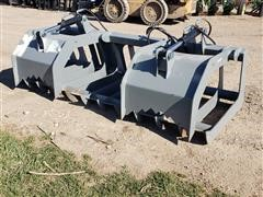 "2020 Hawz 74"" Root Grapple Skid Steer Attachment"