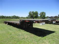 2009 Maurer 53' Spread Axle Drop Deck Trailer
