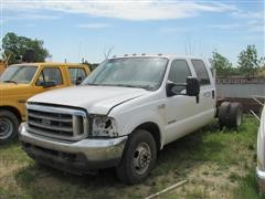2003 Ford F-350 Super Crew Cab & Chassis Pickup