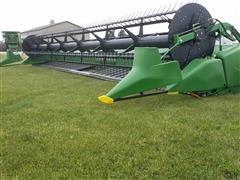 2014 John Deere 635FD Hydraflex Draper Header