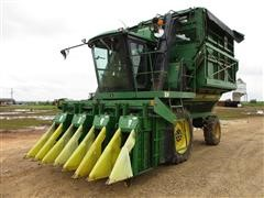 1990 John Deere 9960 4WD 4 Row Cotton Picker