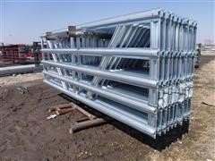 Behlen Mfg 12' Wide Galvanized Panel Gates