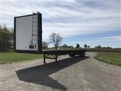 1995 Utility 53' T/A Flatbed Trailer