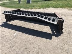 Shop Built Squeegee Skid Steer Attachment