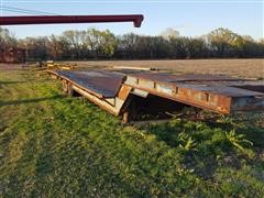 1972 Schwartz Drop Deck Trailer