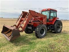 1988 Case IH 7140 MFWD Tractor W/710 Loader