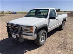 GMC 2500 4x4 Pickup
