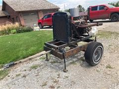 GM 350 4-Bolt Power Unit On Cart