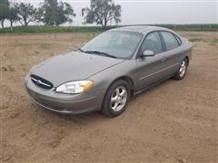 2002 Ford Taurus SES Car