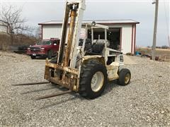 Allis-Chalmers 706-B Rough Terrain Forklift