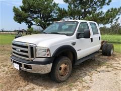2006 Ford F350 Crew Cab & Chassis Pickup