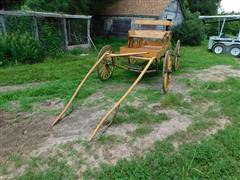 2 Seat Horse Drawn Buck Board Buggy