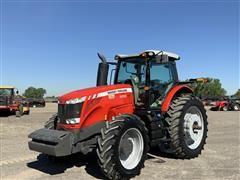 2012 Massey Ferguson 8650 MFWD Tractor