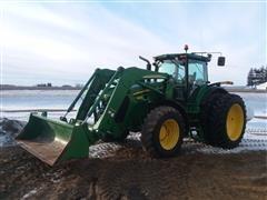 2011 John Deere 7930 MFWD Tractor W/Loader