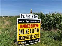 Tract 6:  41.11+/- Acres Butler County, Nebraska