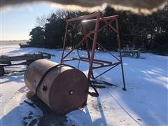 300-Gal Fuel Barrel On Stand