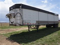 1992 Wilkens 42' T/A Enclosed Walking Floor Trailer