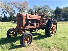 1945 International Farmall A Row-Crop 2WD Tractor W/Adjustable Wide Front Axle