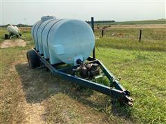 Liquid Tank W/Pump