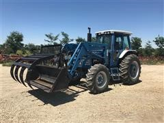 1991 Ford 7710 MFWA Tractor W/GB 770 Front End Loader