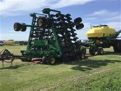 2012 John Deere 1890/1910 Air Seeder W/cart