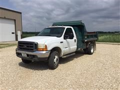 1999 Ford F450 S/A Dump Truck