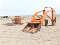 American Classic Front End Loader W/Hay Sweep
