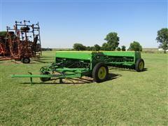 John Deere 8350 Double Disk Grain Drills W/John Deere Hitch & Caddy
