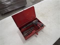 Craftsman Air Chisel W/Box And Attachments