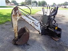 Clark 907 Skid Steer Backhoe Attachment