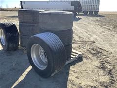 Michelin XOne 445/50R22.5 Tires W/Alcoa Aluminum Rims