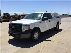 2012 Ford F150 4x4 Extended Cab Pickup
