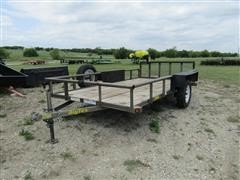 2013 Big Tex 35SA Bumper Pull Utility Trailer
