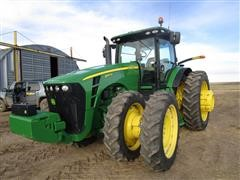 2010 John Deere 8345R MFWD Tractor