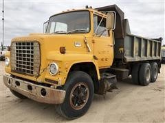 1978 Ford 8000 T/A Dump Truck