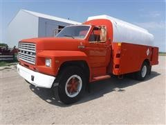 1980 Ford F600 Fuel Delivery Truck
